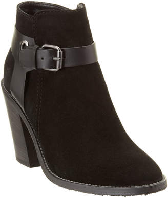 Aquatalia Liana Waterproof Leather & Suede Bootie