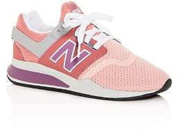 New Balance Girls' 247 Low-Top Sneakers - Big Kid