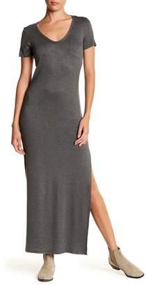 Velvet Torch Side Slit Knit Dress