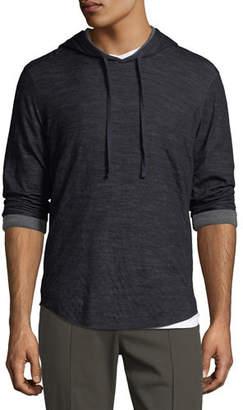 Vince Contrast Pullover Hoodie