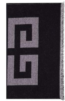 Givenchy Double 4g Woven Scarf