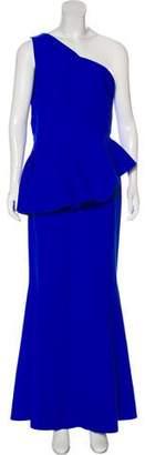 Chiara Boni One Shoulder Maxi Dress