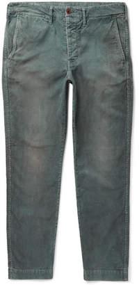 Co Fabric-Brand & Dazed Slim-Fit Cotton-Blend Corduroy Trousers