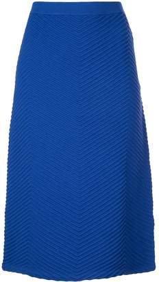 Victoria Victoria Beckham fitted knit skirt