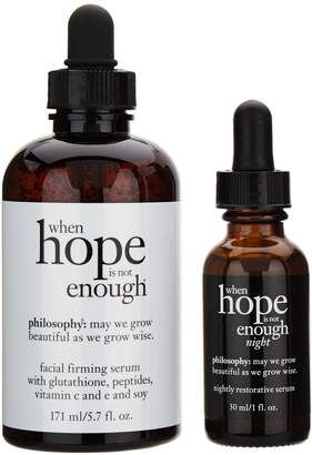 philosophy when hope is not enough mega day &night Auto-Delivery