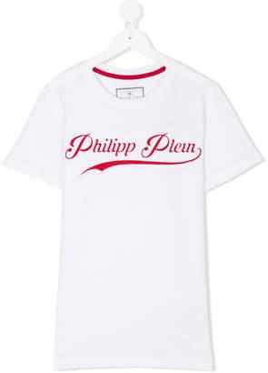 Philipp Plein Junior logo printed T-shirt