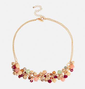 Avenue Multi Color Shakey Bead Necklace
