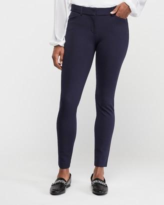 Express Mid Rise Clean Ponte Skinny Pant
