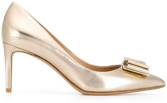 Salvatore Ferragamo bow-detailed pumps