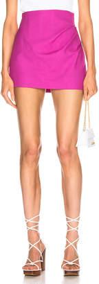 Jacquemus Bambola Skirt in Pink   FWRD