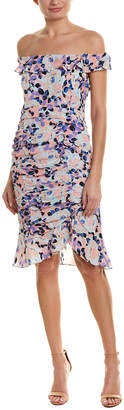 Nanette Lepore Silk Sheath Dress