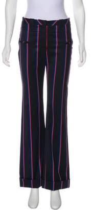 Altuzarra Roksanda Striped Mid-Rise Wide-Leg Pants