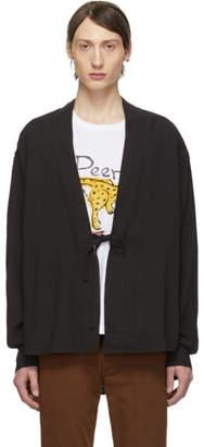 Visvim Black Rayon Lhamo Shirt