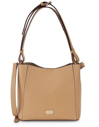 Frances Valentine Small June Leather Hobo Bag