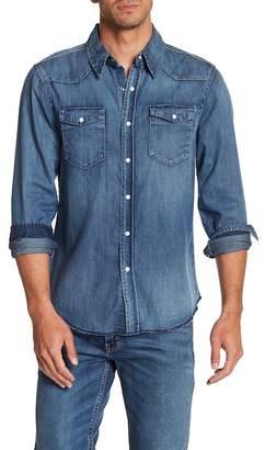 Frame Denim Long Sleeve Regular Fit Shirt