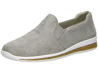Rieker Women's N5160-42 Obermaterial Leder Loafers