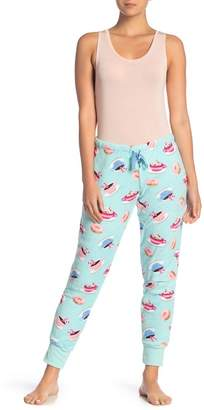 Couture PJ Breakfast Print Plush Pajama Pants