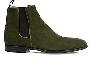 Aquatalia Men's Adrian Suede Chelsea Boots