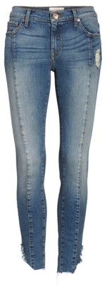 Women's Band Of Gypsies Lola Front Seam Skinny Jeans $78 thestylecure.com