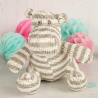 The Contemporary Home Knitted Baby Hippo