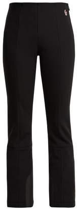 Moncler Flared Neoprene Ski Trousers - Womens - Black