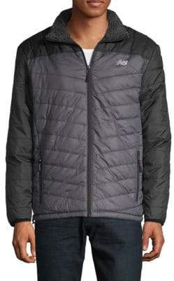 New Balance Zip-Up Quilted Jacket