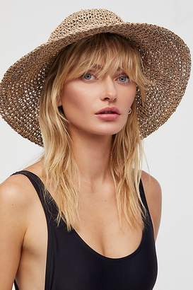 Ale By Alessandra 'Ale By Alessandra Callie Dyed Rope Straw Hat