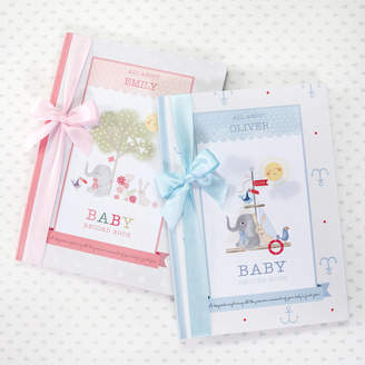 Babyblooms Personalised Baby Record Book