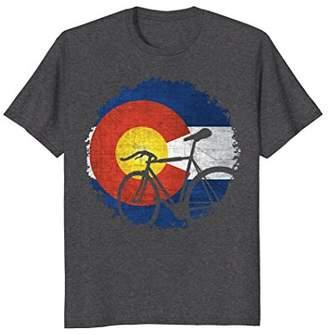 Colorado Cycling Bicycle T-shirt