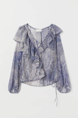 H&M Airy lyocell-blend blouse