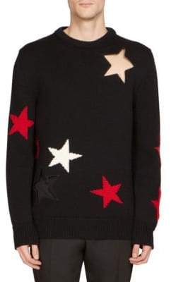 Givenchy Star Cotton Sweater