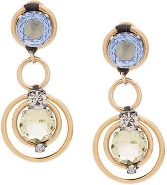 Rada' Radà embellished clip earrings