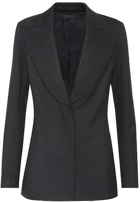 The Row Demilla wool-blend jacket