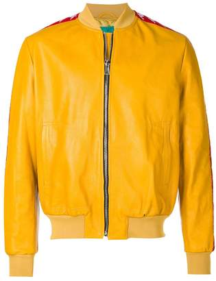 Paura Danilo x Kappa logo stripe jacket