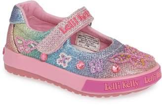 Lelli Kelly Kids Beaded Butterfly Mary Jane Sneaker