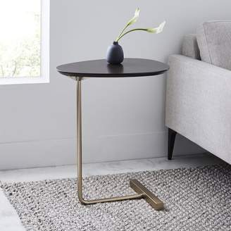 west elm Charley C-Side Table – Dark Mineral