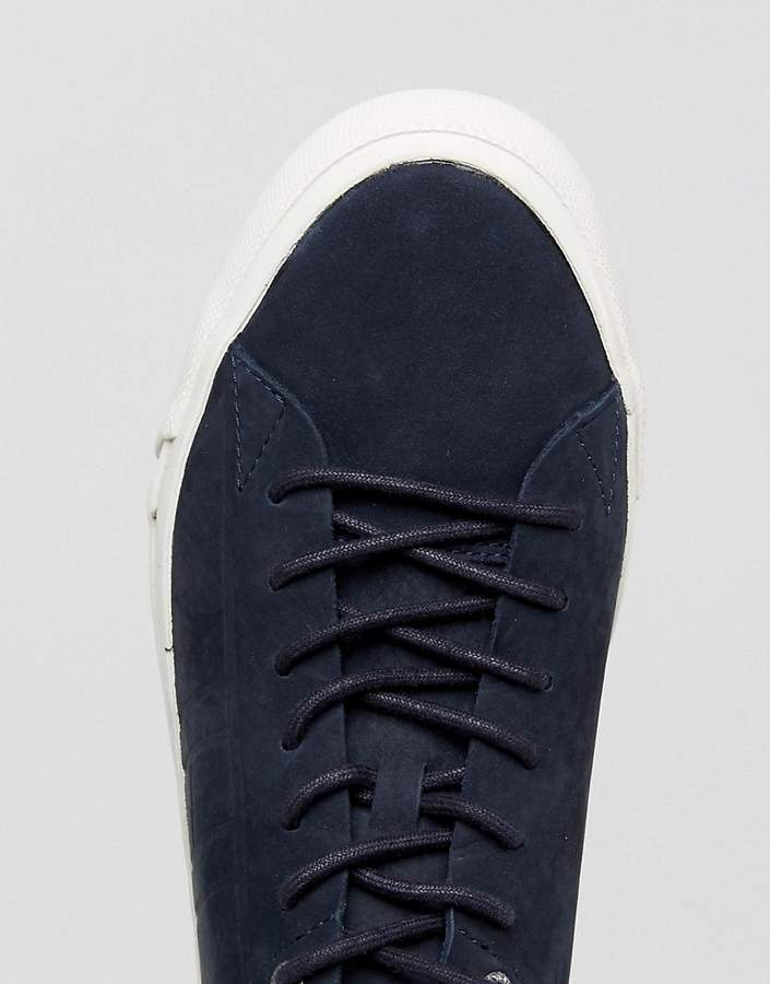 Tommy Hilfiger Dino Suede Sneakers In Navy