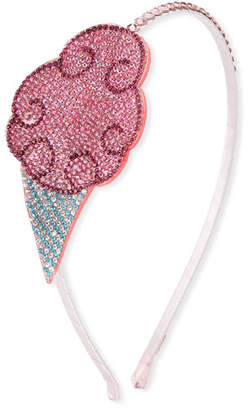 Cotton Candy Bari Lynn Girls' Crystal Headband