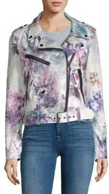 Bagatelle Floral Biker Jacket
