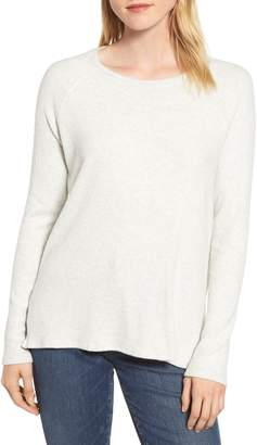 Velvet by Graham & Spencer Cozy Rib Long Sleeve Top