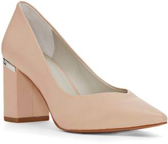 1 STATE Saffire Point Toe Block Heel Pump