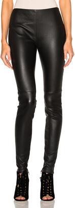 Lanvin Leather Pants $2,385 thestylecure.com