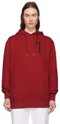 Polythene* Optics Red Vertical Hoodie
