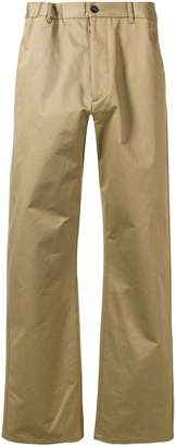 Maison Margiela straight leg chino trousers