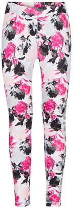 Converse Big Girls Break of Dawn Floral-Print Leggings
