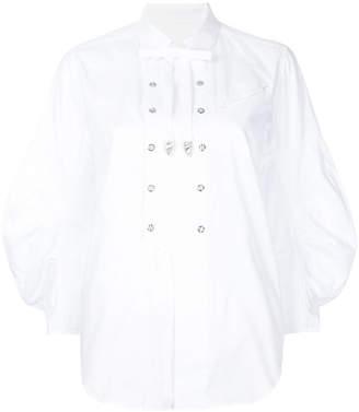 Toga Pulla embellished bib shirt