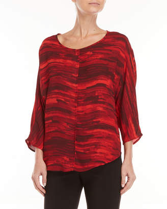 Premise Studio Printed Quarter Sleeve Tunic