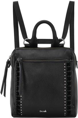 The Sak Loyola Leather Mini Convertible Backpack