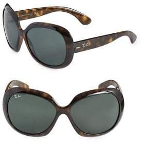 Ray-Ban 60MM Round Oversized Sunglasses