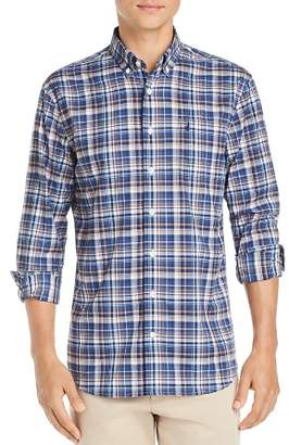 Johnnie-O Dex Performance Plaid Regular Fit Button-Down Shirt